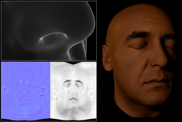 Creation Of A Virtual Human Face